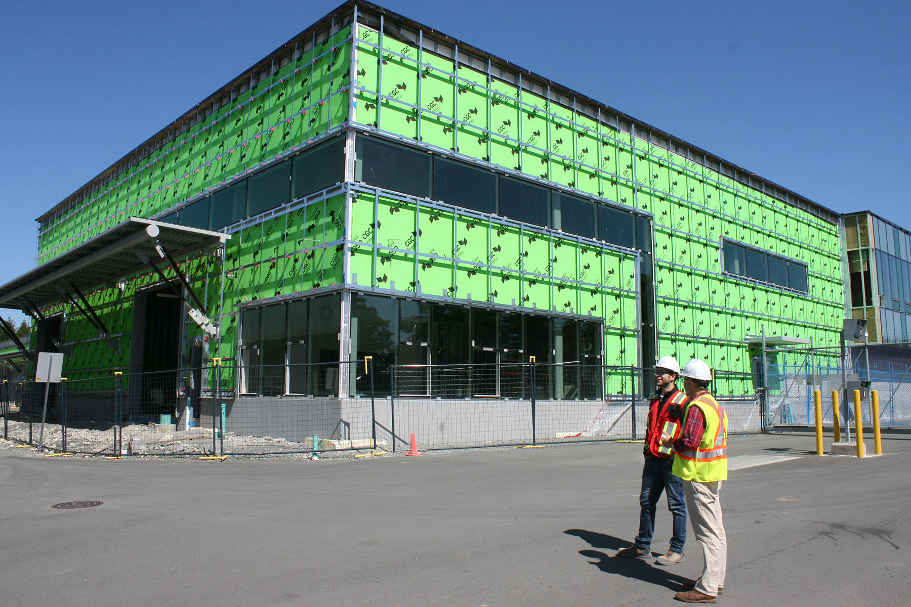 BC Hydro's new post-disaster centre nearly done in Royal Oak
