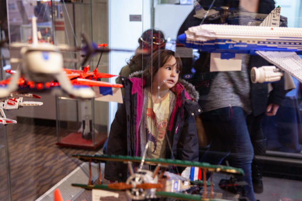 Lego exhibit fuelled busiest ever January for Sidney Museum
