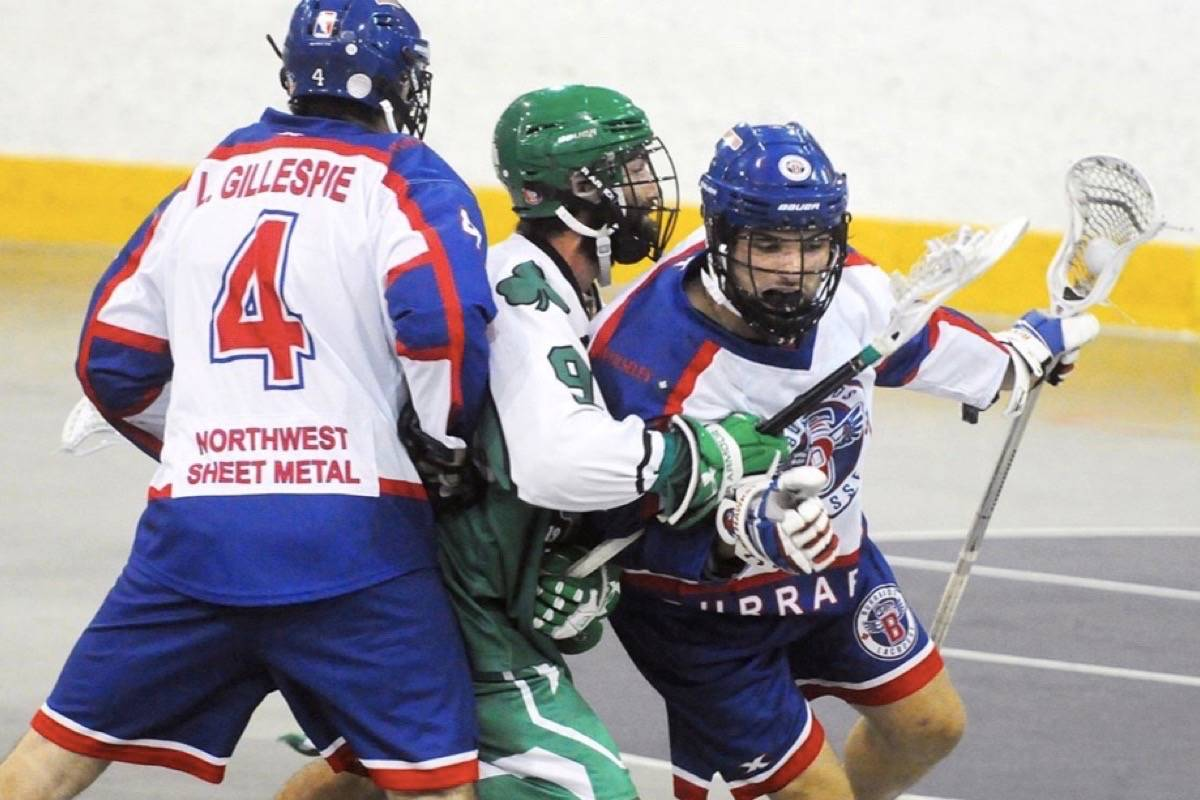 Victoria Shamrocks open WLA finals at Q Centre in Colwood