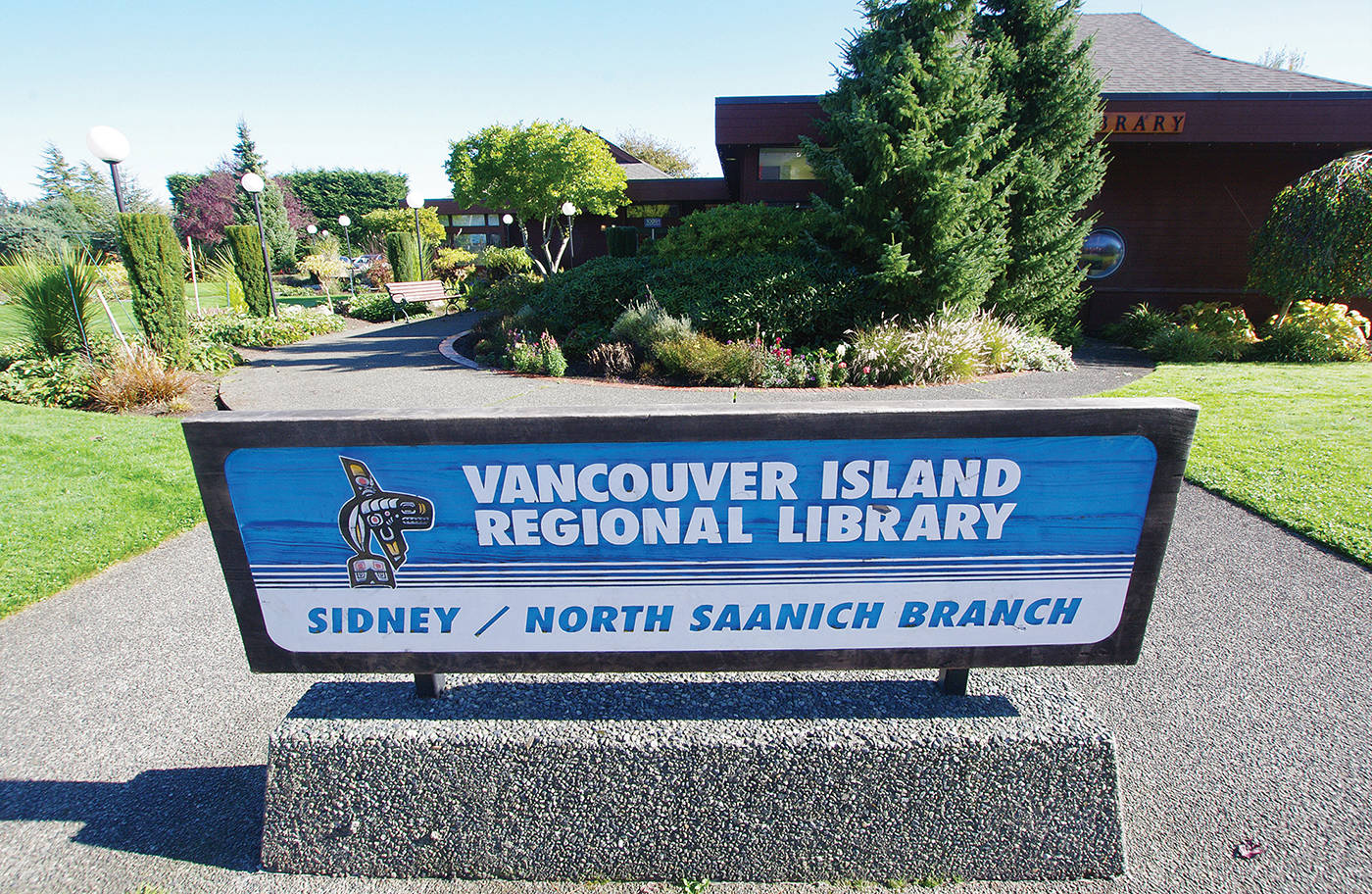 Sidney hears calls to book out of Vancouver Island Regional Library system