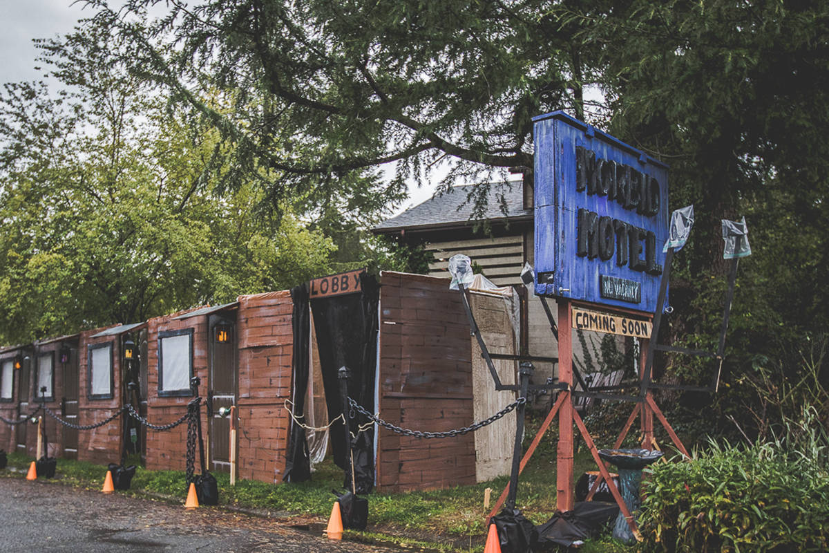 Bates Motel recreated in Saanich for a haunting good time