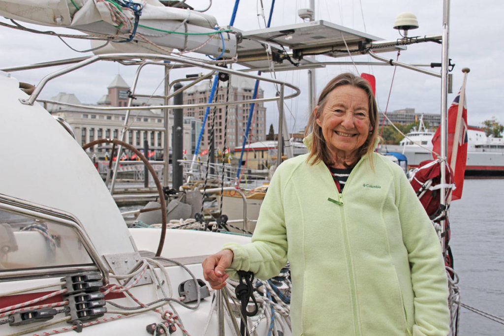 Harbour authority to honour Victoria sailor Jeanne Socrates with naming ceremony - Saanich News