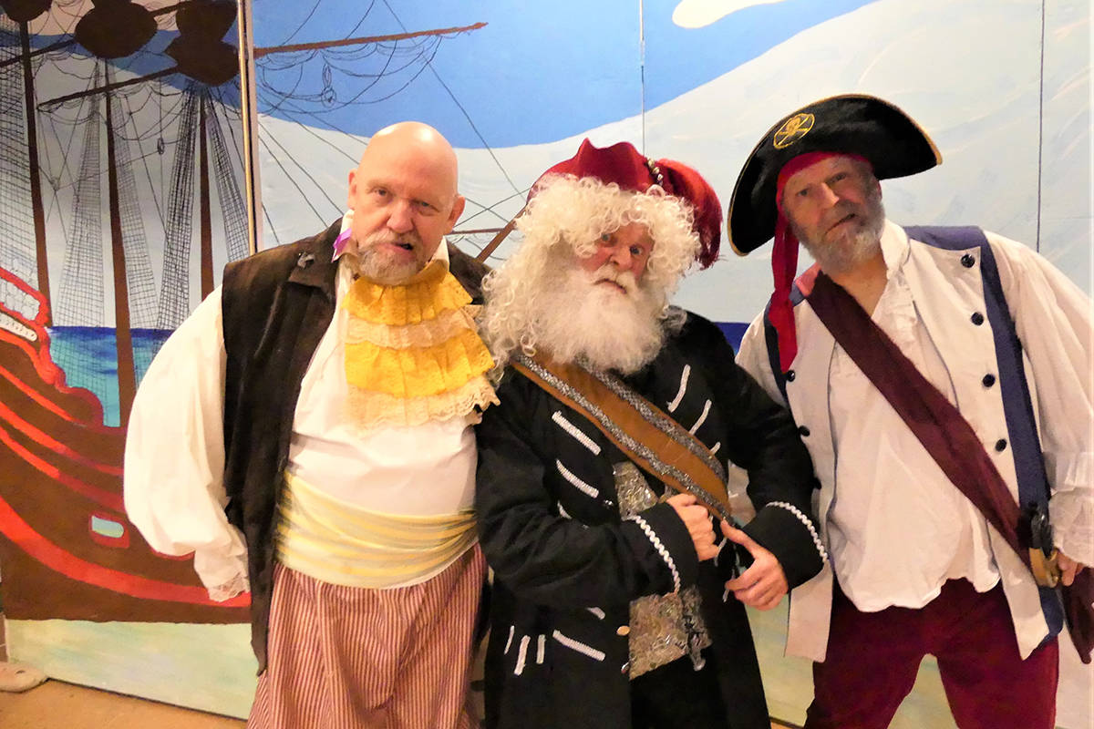 Longtime Saanich drama group brings pirates onstage for traditional Christmas pantomime