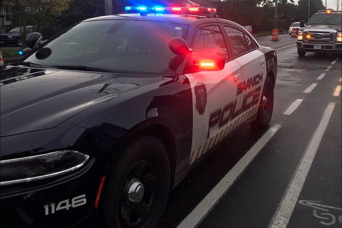 Saanich Police: most common road safety reports are motor vehicle collisions