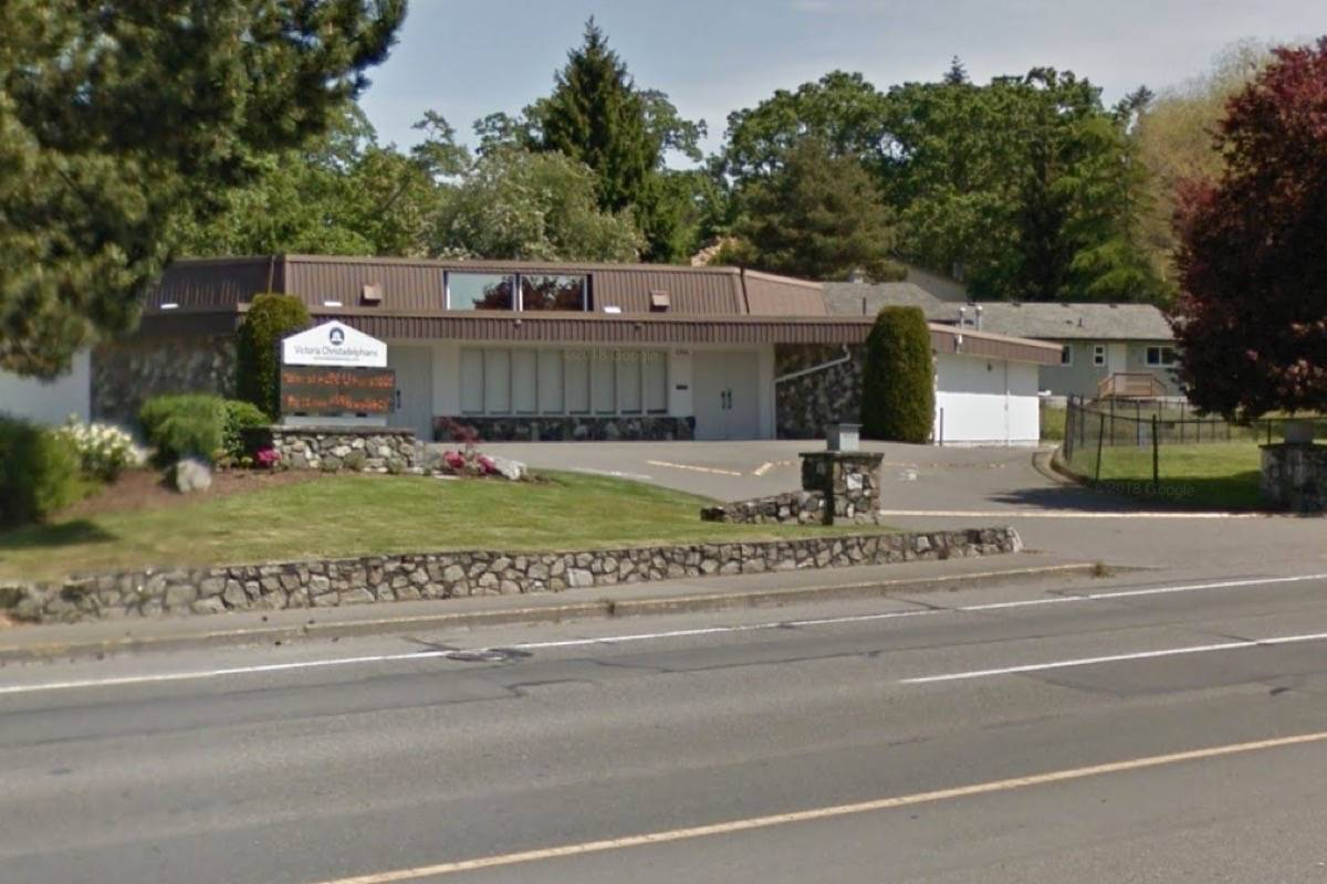 Thief steals cash donations from Saanich church