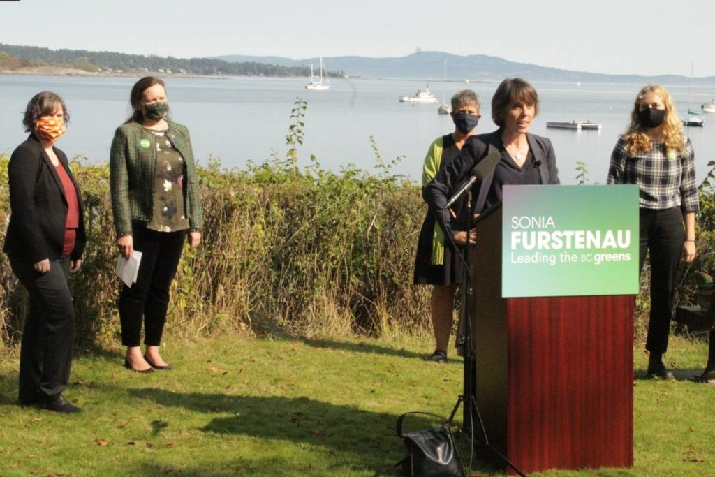 B.C. Greens introduce all-women slate for Victoria, Saanich and Oak Bay ridings - Saanich News