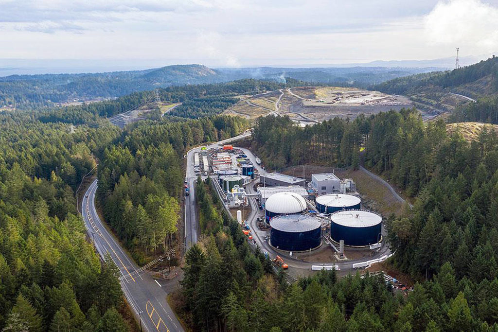 Plant closure sends more biosolids to Hartland Landfill - Saanich News