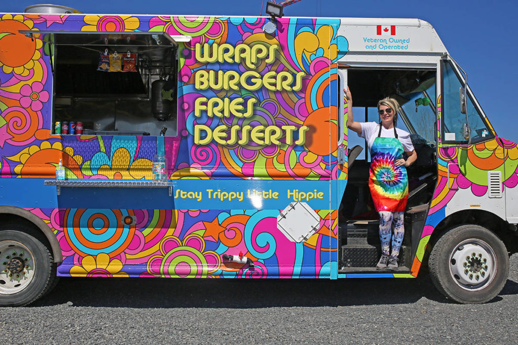 Psychedelic food truck the next thing for veteran's wife in Colwood - Saanich News
