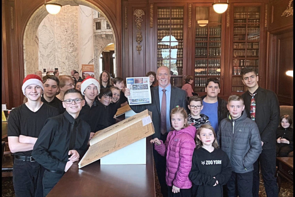 Gift and program support young Sooke musicians - Saanich News