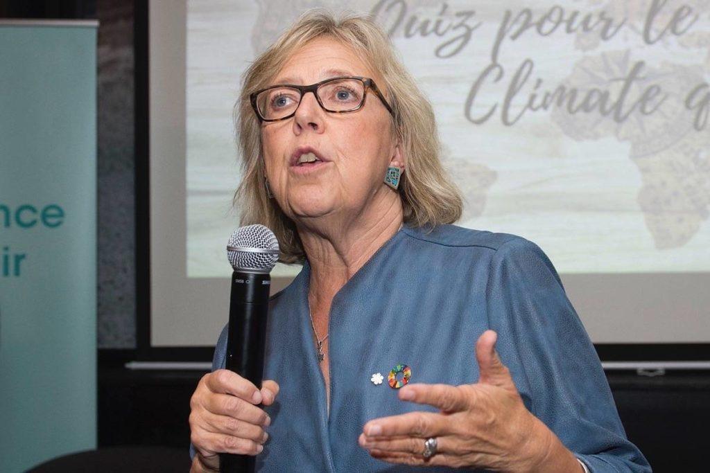 MP Elizabeth May says public has right to know identity of Sidney warehouse operator - Saanich News