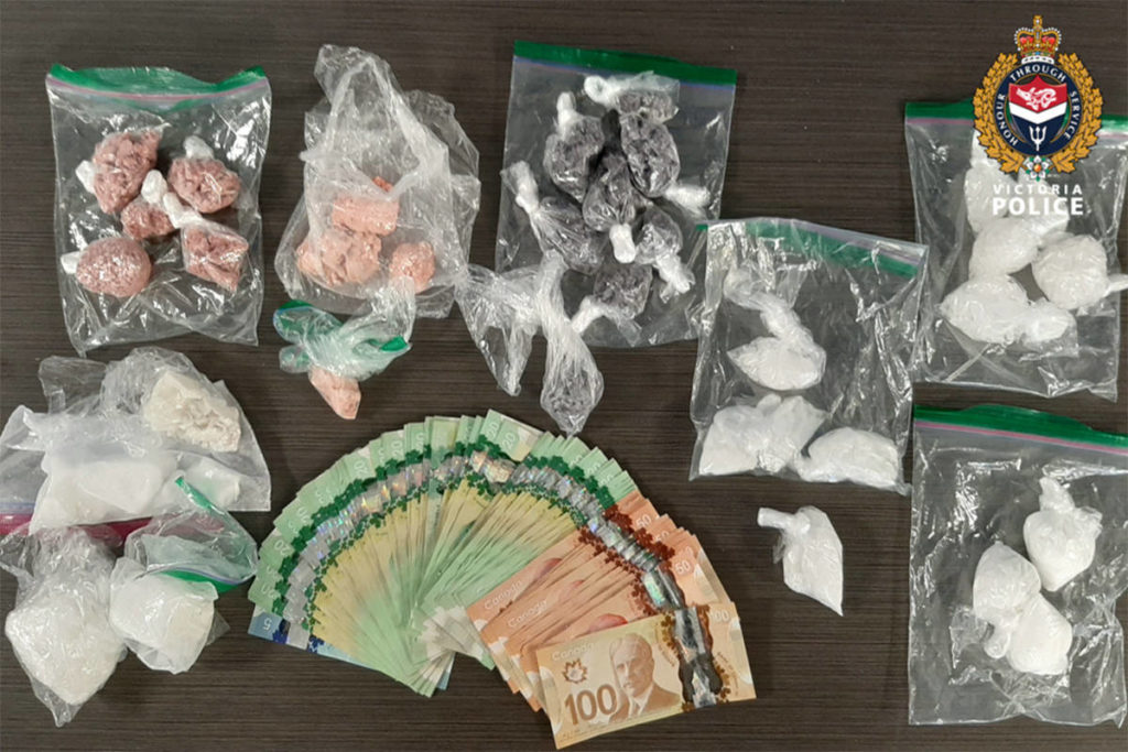 Two Vancouver men arrested, kilo of drugs seized after trafficking investigation - Saanich News