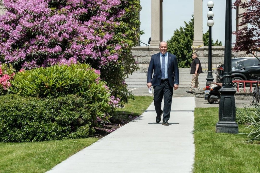 B.C. premier roasted for office budget, taxing COVID-19 benefits - Saanich News
