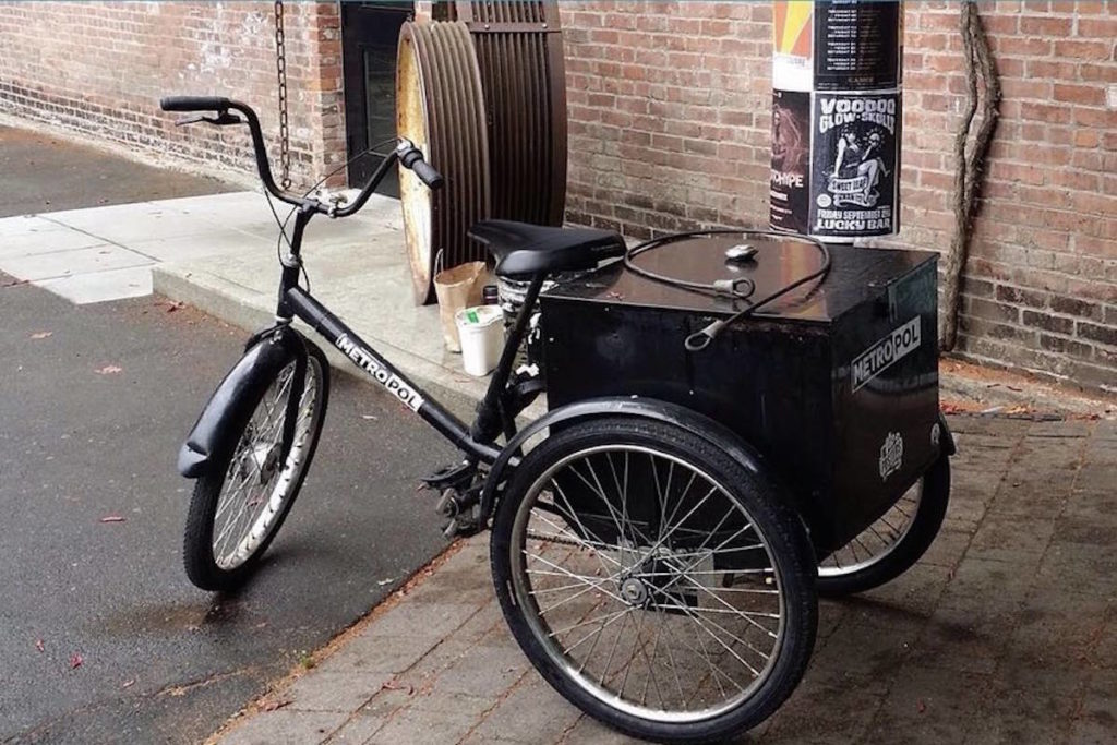 Police seek witnesses after downtown Victoria company's tricycle stolen - Saanich News