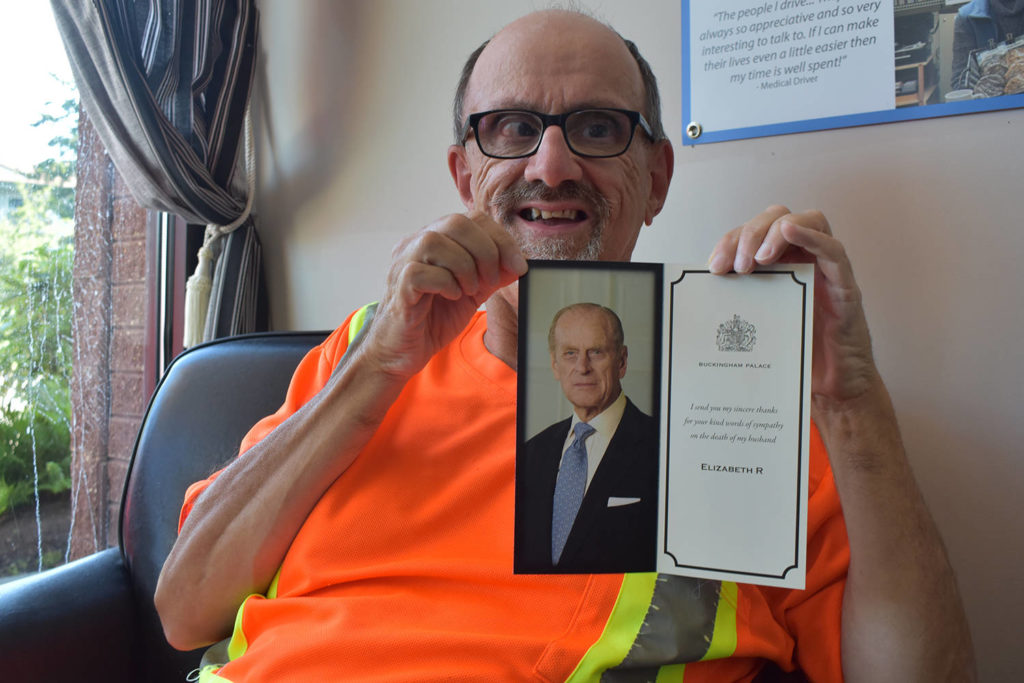Sidney resident receives thank-you note from Buckingham ...