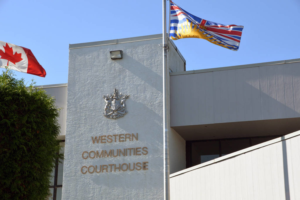 Colwood man pleads guilty, sentenced for impaired driving, theft, break-and-enter - Saanich News