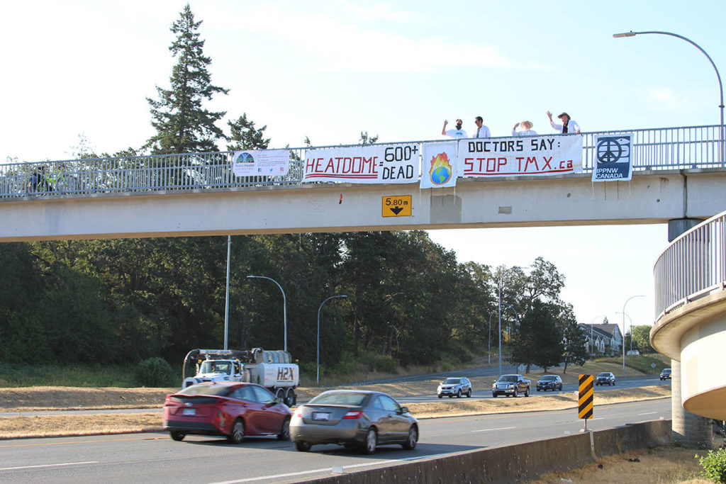 Greater Victoria physicians group likens pipeline expansion to addiction - Saanich News