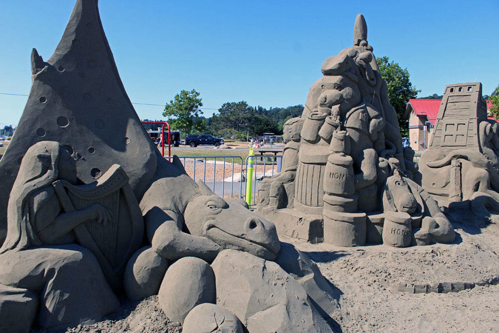 Voting ends soon for Saanich sand sculpture favourites at Cadboro-Gyro Park - Saanich News