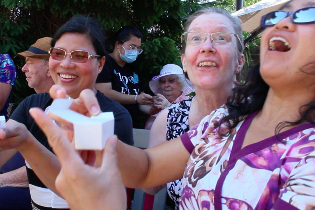 Sidney butterfly release honours seniors lost to COVID-19, plus survivors - Saanich News