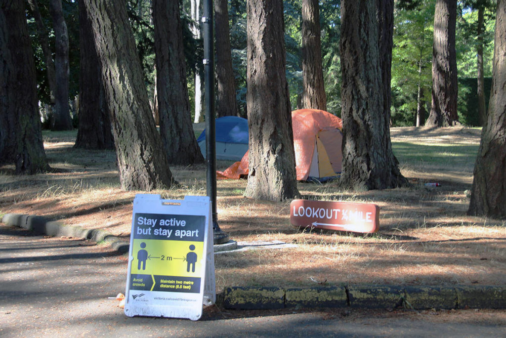 Vancouver Island Health confirms outbreak of COVID among Victoria community of those facing homelessness - Saanich News