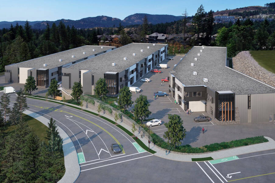 Another new industrial development on its way to Langford - Saanich News